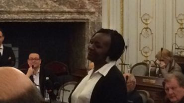 La nouvelle conseillère communale liégeosie, Marie-Jeanne Omari