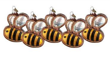 Les abeilles en verre de Fortnum & Mason