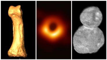 Un os de l'Homo luzonensis, la photo du trou noir et Arrokoth, le corps céleste le plus lointain.