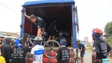 Embarquement vélos