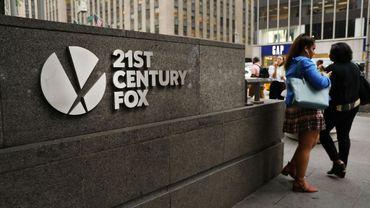 Le siège de 21st Century Fox à New York, le 13 juin 2018