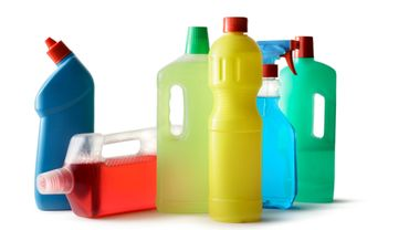 Les produits ménagers industriels contribuent à polluer l'air intérieur