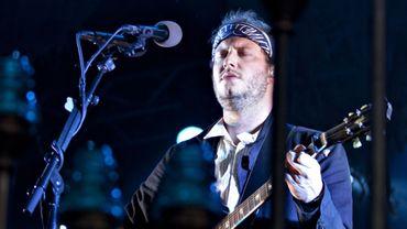 Le chanteur Justin Vernon, leader du groupe de folk rock américain Bon Iver