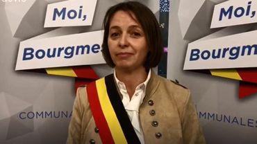 Valérie Warzée-Caverenne, bourgmestre de Hamois.