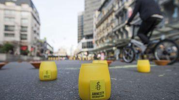 Campagne de récolte de fonds: Amnesty souffle sur ses propres 40 bougies