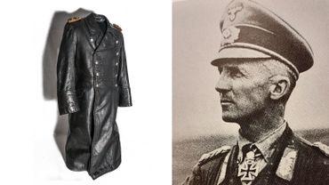 La veste d'un général nazi repenti, relique de la bataille des Ardennes au Bastogne War Museum