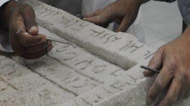 Découverte majeure et bilingue pour une équipe d'archéologues belges