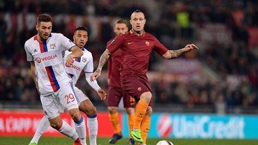 Roma-Lyon: 1-1, La Roma pousse, Strootman égalise (LIVE)