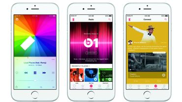 Apple Music sur l'iPhone 6