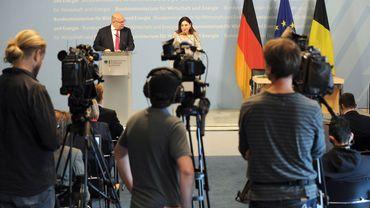 Photo provenant du compte Twitter du ministère allemand de l'Energie