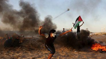 Un adolescent palestinien