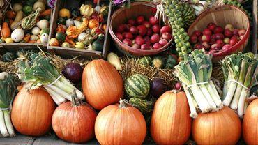Les fruits et légumes en automne