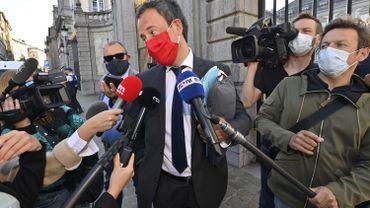 Philippe Goffin, le ministre des affaires étrangères belge, le 23 septembre 2020