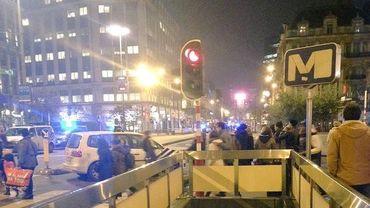 Alerte à la bombe dans le quartier de la Bourse à Bruxelles