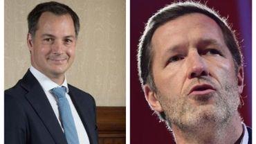 Négociations fédérales: le Roi désigne Paul Magnette et Alexander de Croo co-formateurs