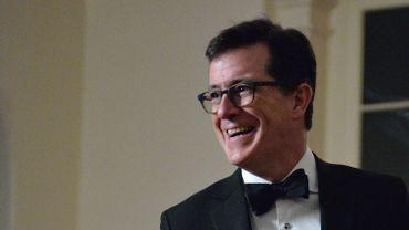 """Animateur de """"The Late Show"""", Stephen Colbert présentera dimanche la 69e cérémonie des Emmy Awards"""