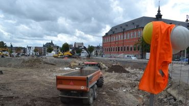 Site du Grognon, Namur