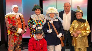 Le carnaval de Nivelles s'invite dans On n'est pas des pigeons
