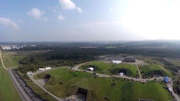 Capture d'écran de la vidéo filmée par le drone