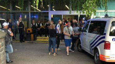 Des tensions avaient éclaté devant le CHR de Verviers après la bagarre, qui a fait un mort.
