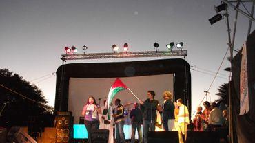 Les discours ont précédé les programmes culturels lors de la cérémonie de cloture du FSM