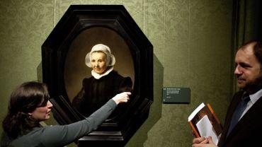 """Rembrandt, """"Portrait d'Aeltje Uylenburgh"""""""