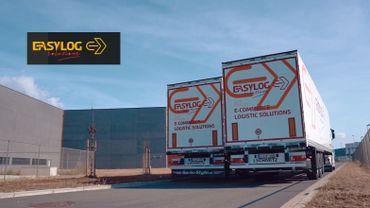 Les entrepôts d'EasyLog Solutions, à  Liège Airport