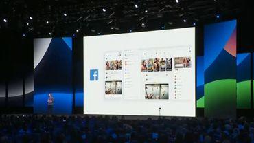 Découvrez la nouvelle version de Facebook et son interface blanche: les groupes et l'amour valorisés