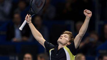 Tennis: David Goffin jouera Federer en finale de l'ATP de Bâle