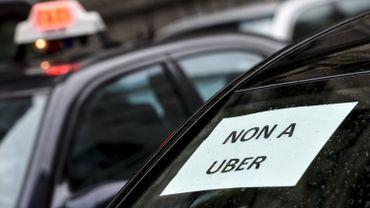 Une manifestation des taxis avait déjà eu lieu le 3 mars