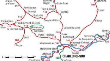 Conséquences sur le trafic de l'accident à Morlanwelz: aucun train entre Mons et Charleroi