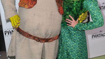 Shrek et sa fiancée Fiona