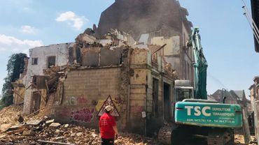 La démolition du casino de Thuin est pratiquement terminée