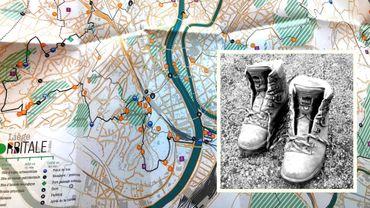 La carte de randonnée Liège-Orbitale