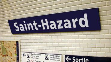 """""""Griez-Mann Debroux"""" ou """"Saint-Hazard""""? STIB et RATP préfacent le match France-Belgique"""