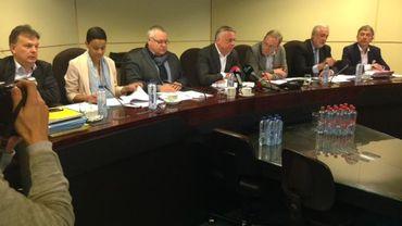 Conférence de presse de la Commission attentat
