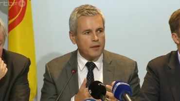 Le ministre wallon du Budget Christophe Lacroix