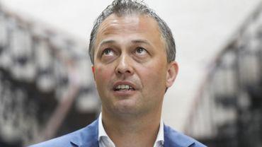 Egbert Lachaert, président de l'Open VLD.
