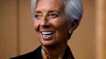 La directrice générale du Fonds monétaire international (FMI), Christine Lagarde, nominée pour la présidence de la Banque centrale européenne (BCE).