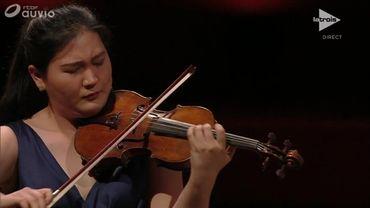 Yoo Jin Lee en demi-finale