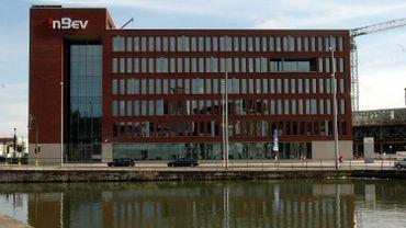 Le siège d'ABInbev à Louvain en 2008