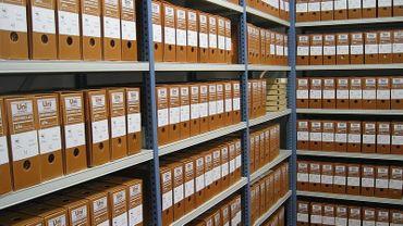 35 mètres de documents sur la spoilation des juifs durant l'occupation allemande sont transférés aux Archives générales du royaume ce mercredi.