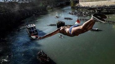 A Rome, les plongeurs du Tibre ont été fidèles à la tradition