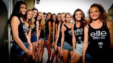 Les 12 finalistes du concours Elite Model Look France qui s'affronteront le 2 octobre prochain