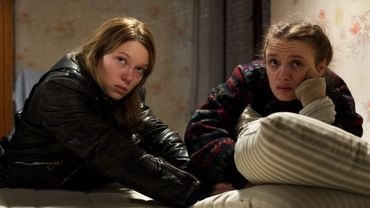 """Léa Seydoux et Sara Forestier dans """"Roubaix, une lumière"""