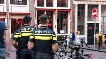 Des policiers à Amsterdam (photo d'illustration).