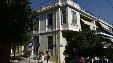 Domicile de Maria Daniil, à Athènes, dans le quartier de Koukaki