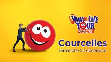 Viva for Life Tour fait étape à Courcelles: le programme