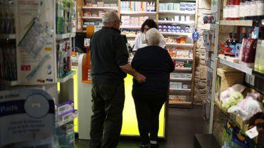 Dans une pharmacie