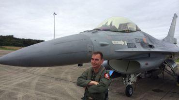 Un pilote belge franchit le cap des 4000 heures de vol sur F-16